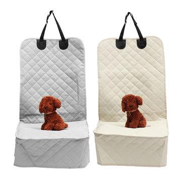 Car Copilot Seat Oxford Cloth Non Slip Pet Mat Travel Seat Dog Protector Carrier Cushion Pad
