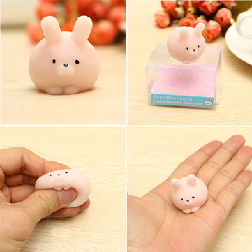 Squishy Ball Toys R Us : Pink Bunny Ball Squishy Squeeze Cute Healing Toy Kawaii Collection Stress Reliever Gift Decor ...