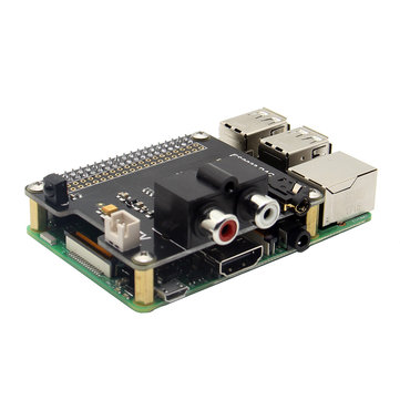 X900 HIFI DAC ES9023 Expansion Board For Raspberry Pi 3 Model B / 2B / A+ / Zero W