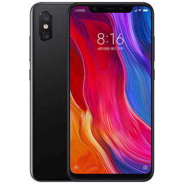 Xiaomi Mi8 Mi 8 Global Version 6.21 inch 6Go RAM 64Go ROM Snapdragon 845 Octa Core 4G Téléphone Intelligent