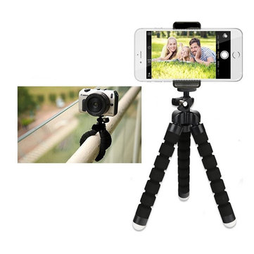 Bakeey Octopus bluetooth Tripod Flexible Selfie Stand Live Holder for Phone Camera