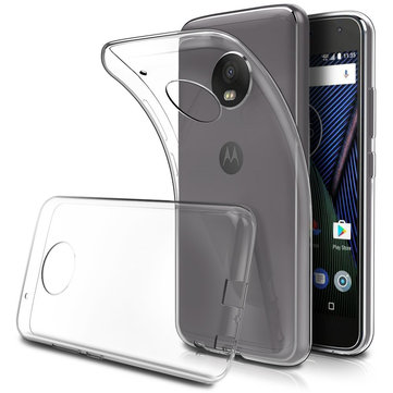 Bakeey Transparent Soft TPU Protective Case For MOTO G5s Plus