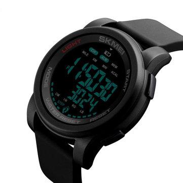 SKMEI 1469 Calorie Podometer Countdown Impermeable Luminous Deportes Reloj digital para hombres Reloj