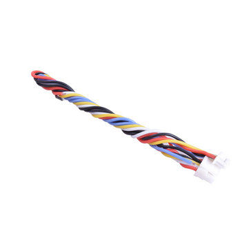 15PCS 5 Pin Silicone Cable for TBS UNIFY PRO HV/Race RunCam Swift 2/Owl 2