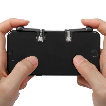 Game Controller Shooter Mobile Gaming Aiming Fire Trigger Button Handle L1R1 for PUBG Mobile Game