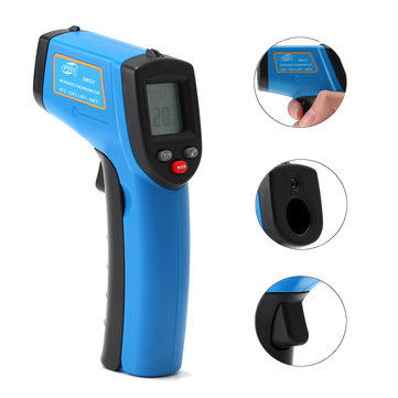 Portable Digital Laser IR Infrared Thermometer Temperature tool -50° to 530°