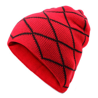 Men Male Knitted Slouch Beanie Hat
