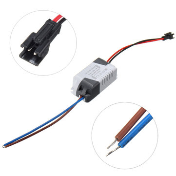 AC85-265V To DC45-85V 15-24W 300mA LED Light Lamp Driver Adapter Transformer Power Supply