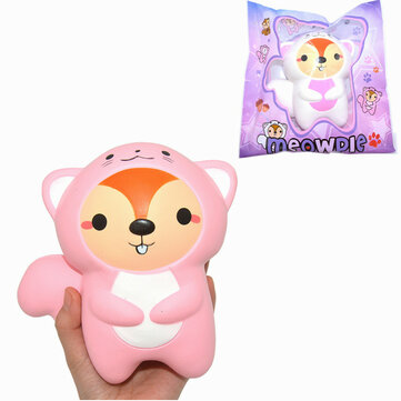 Amourie Meowpie Squishy Squirrel Slow Rising Animal 16cm Squeeze Gift Collection With Packing