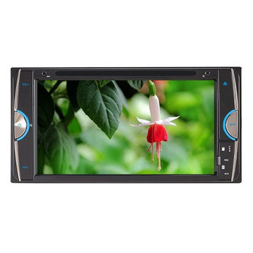 F6090 6.95 Inch Car DVD Player Digital Touch TFT Screen Big USB BT TV for Toyota