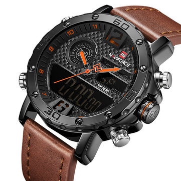 NAVIFORCE NF9134 Chronograph Dual Display Watch