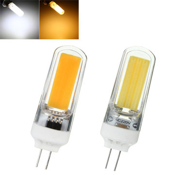 3w g4 cob led cool warm white non dimmable bulb lamp 220v sale. Black Bedroom Furniture Sets. Home Design Ideas