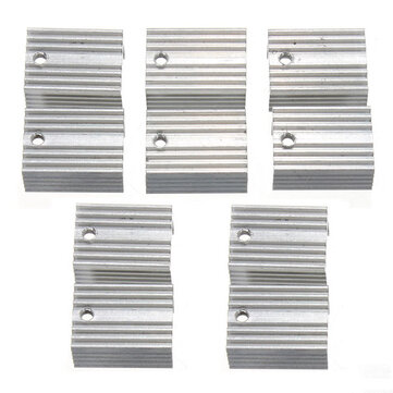 Aluminum Heat Sink Heat Sink For TO-220 L780xCV Three Terminal Positive Voltage Regulator