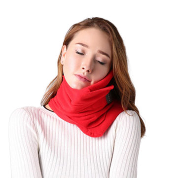 Scientifically Proven Super Soft Neck Support Travel Pillow Machine Washable Coral Pillow