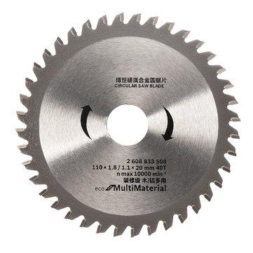 4 Inch 40 TCT Teeth Saw Blade Wood Cutting Circular Blade Angle Grinder Wodworking Disc