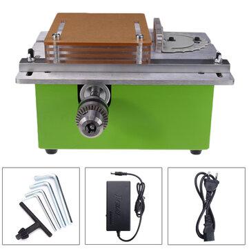 Raitool™Sciesàtablede table 12-24V Scie à bois électrique de coupe de polissage