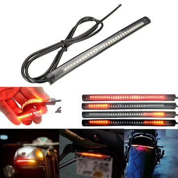 32-3528 SMD 8inch Flexible LED License Plate Lights DC12V For Motorcycle Bike ATV Car RV SUV