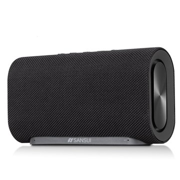 Sansui T8 20W Dupla unidade Diafragma duplo sem fio Bluetooth Speaker TF Card Outdoors Subwoofer