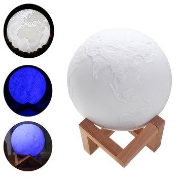 15cmの魔法の3トーンアーステーブルランプUSB充電式LEDナイトライトタップセンサーギフト
