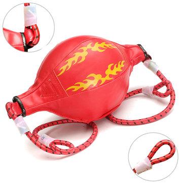 การฝึกมวยหนังการเจาะลูกบอล ผู้ใหญ่ การออกกำลังกาย อุปกรณ์ความเร็วบอล