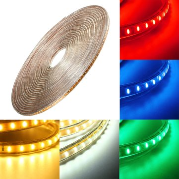 15M SMD3014 Waterproof LED Rope Lamp Party Home Christmas Indoor/Outdoor Strip Light 220V