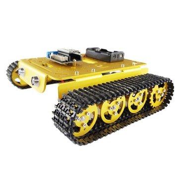 Geekcreit® T200 NodeMCU Aluminum Alloy Tank Track Caterpillar Chassis Smart Robot DIY Kit