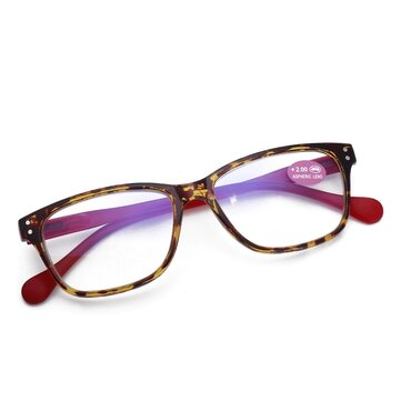 Men Elderly Ultra-light Resin Retro Reading Glasses