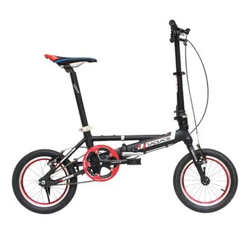 LAPLACE L140 14inch Mini Folding Bike Aluminum Alloy Frame Folding Bicycle Bike Folding Portable Cycling Bike