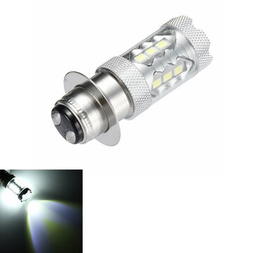 H6 16LED 80W 6000K Super White LED Headlight Bulb For Motorcycle ATV