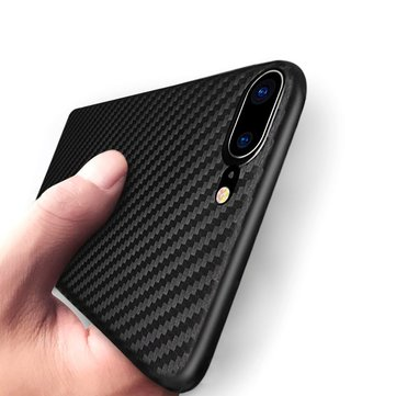 Bakeey Carbon Fiber Texture Anti Fingerprint PP Case For iPhone 7 Plus/8 Plus