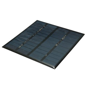 12V 3W Polycrystalline Solar Panel Charger Board For Low Power Appliances