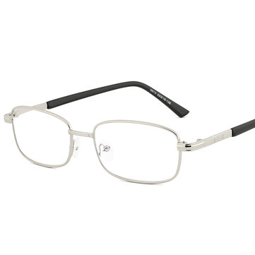 Men Women Casual Metal Frame HD Resin Film Reading Glasses Presbyopic Glasses
