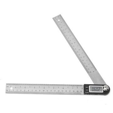 200MM Stainless Steel Electronic Ruler Scale Angle Calipers Digital Display Ruler