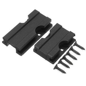 TRAVAILLEUR Jouet Plastique Weaver Top Rail Slot Toys pour Nerf Accessoires de remplacement 3CM Plus 4.5cm