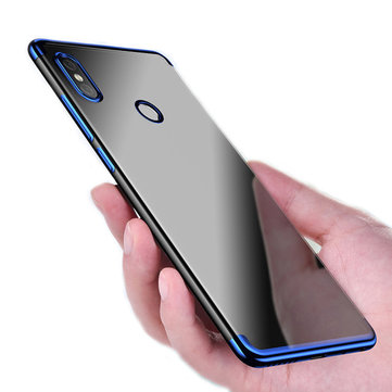 Bakeey Luxury Ultra-Thin Plating Soft TPU Protective Back Cover Case For Xiaomi Redmi S2