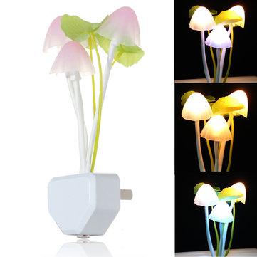 Honana DX-015 귀여운 버섯 모양 디자인 LED 조명 밤light 침대 램프