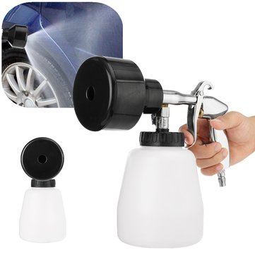Buy Air Pulse High Pressure Cleaning Gun Tornado Car Washer Foam Care Tool Equipment for $32.04 in Banggood store