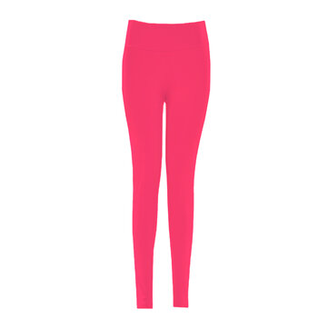 Women Candy Color Elastic High Waist Sport Yoga Pants Leggings