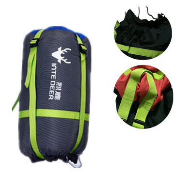 Outdoor Camping Portable Sleeping Bag Cover Storage Pouch Clothing Compression Sack