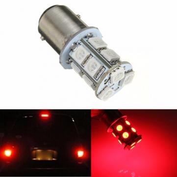 1.3W Red 1157 BAY15D Socket 13 5050 SMD LED Front Turn Signal Light Bulb