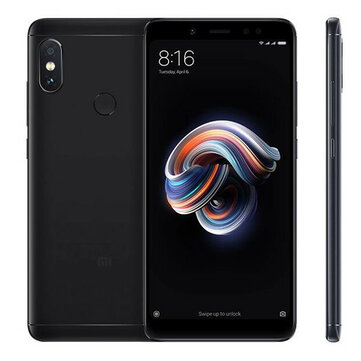 7% OFF для Redmi Note 5 EU 4 + 64G смартфон