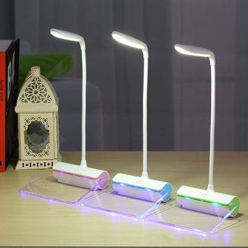 Rechargeable Touch Sensor LED Message Board Night Light Flexible Table Lamp
