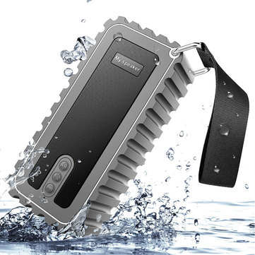 Outdoor Waterproof Wireless IP67 Portable Speaker Stereo Bass with FM Radio