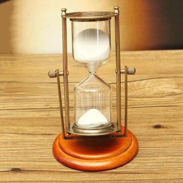 15 Minutes Rolating Hourglass Sandglass Sand Clock Timer Table Home Decoration Desktop Ornament