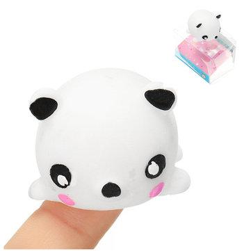 Panda Mochi Squishy Squeeze Cute Healing Toy Kawaii Collection Stress Reliever Gift Decor