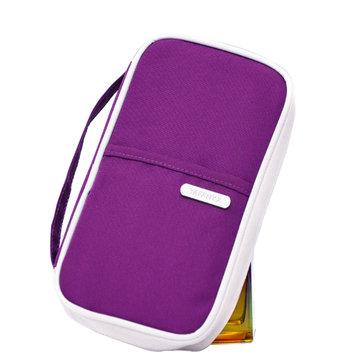 Путешествия молния владельца паспорта сумки кредитной карты длинный бумажник сумки женские клатчи хранения мешков