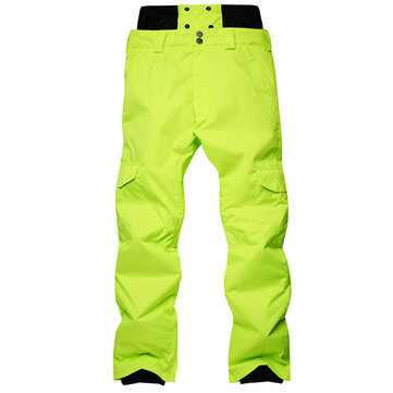Outdoor Waterproof Heating Thick Snowboard Skiing Pants