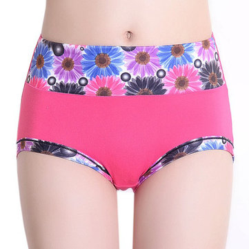 Milk Silk High Waist Soft Breathable Underwear