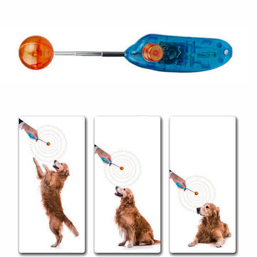 AURKTECH Novelty Stretchable Design Pet HuntingTraining Clicker Dog Retractable Commander