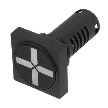 22mm Square-shaped Indicator Isolation Switch Position Two-color Indicator Light